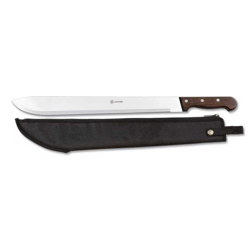 Machette coupe coupe avec manche en bois