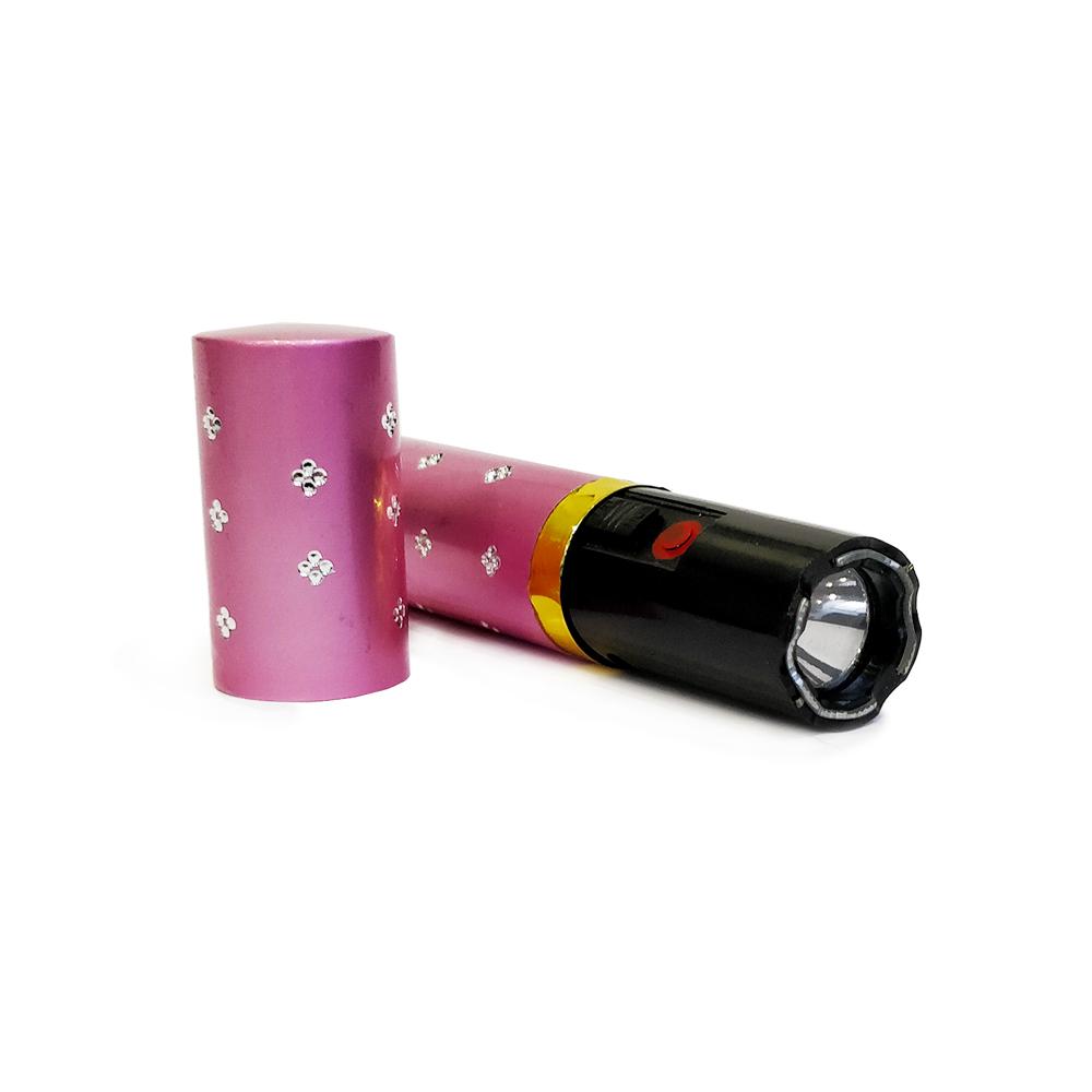 Shocker électrique LipStick rose 2 000 000 volts avec lampe