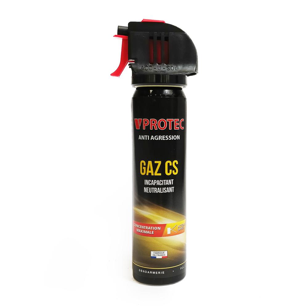 Spray de défense lacrymogène gaz cs 75 ml