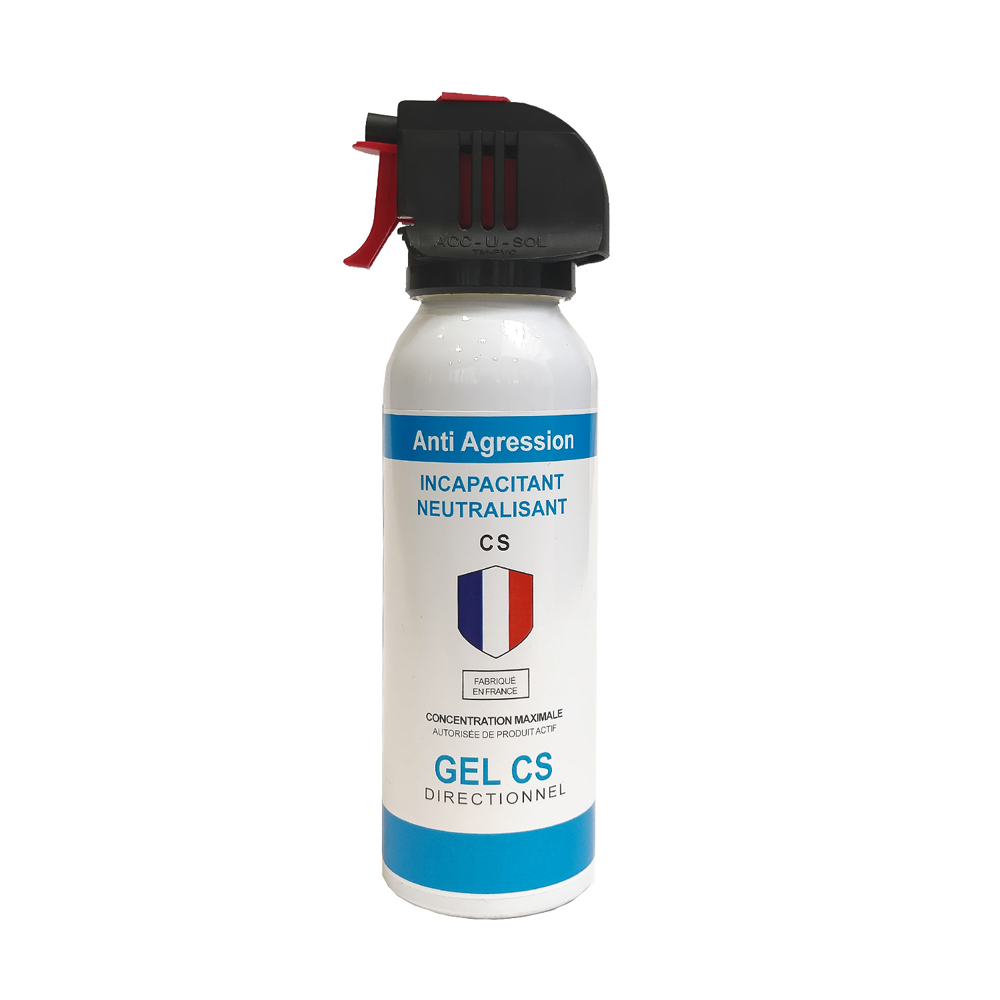 Aérosol de défense  ACCUSOL 100 ml gel CS