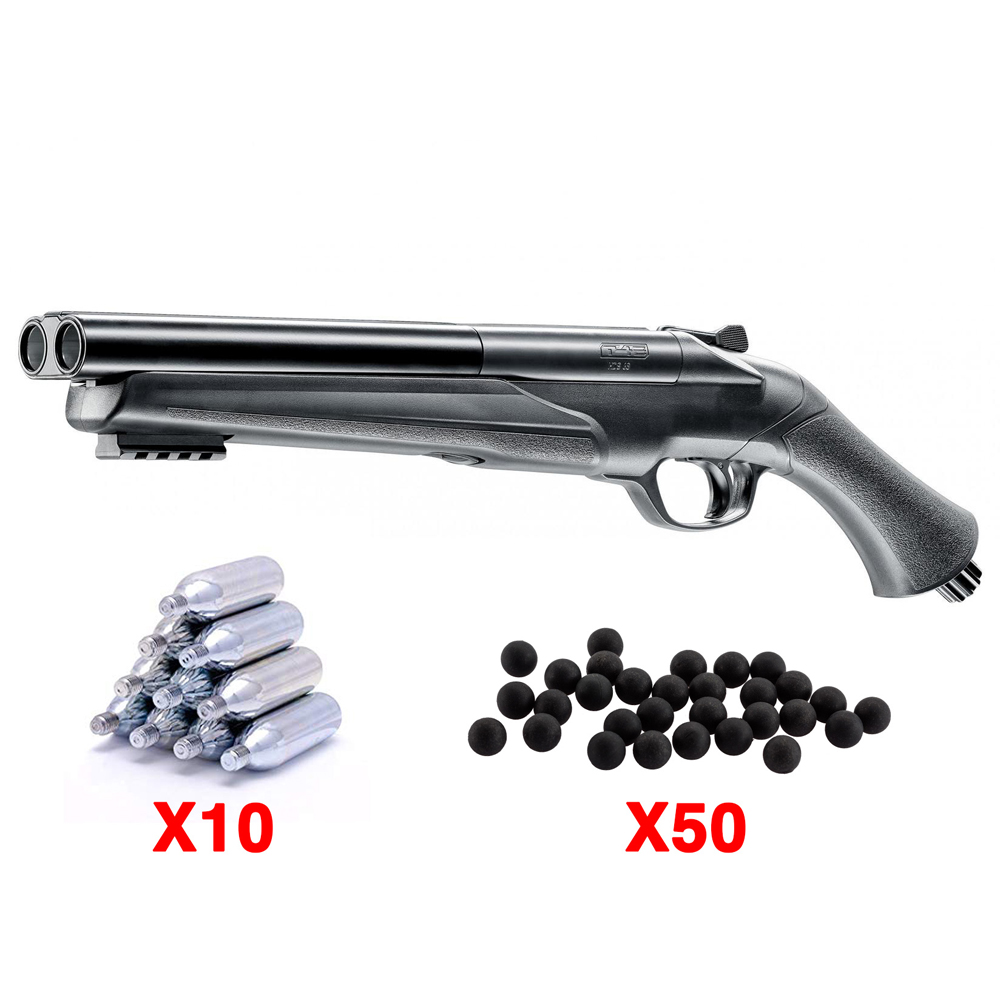 Kit fusil Umarex gomm cogne 16 joules HDS T4E calibre 68