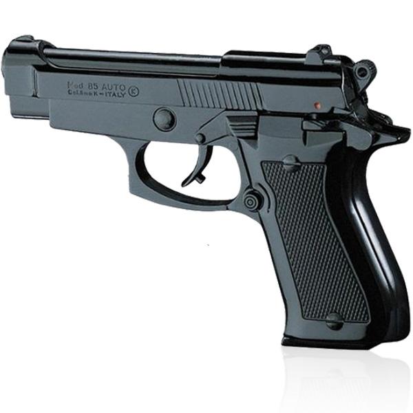 Pistolet à blanc type Beretta 85 noir calibre 9 mm