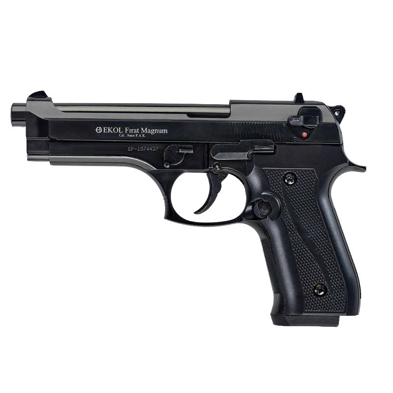 Pistolet de défense EKOL modèle Beretta 92 F noir calibre 9mm