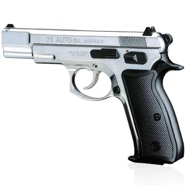 Pistolet de défense CZ 75 AUTO calibre 9mm chrome