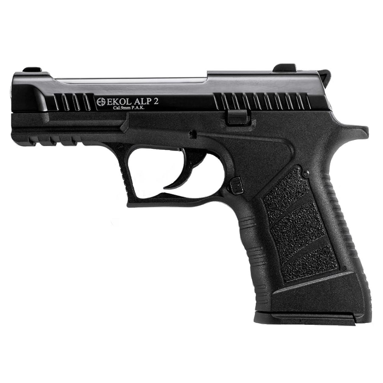 Pistolet de défense EKOL ALP2 type GLOCK noir calibre 9mm