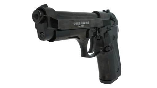Pistolet de défense EKOL JACKAL DUAL noir calibre 9mm