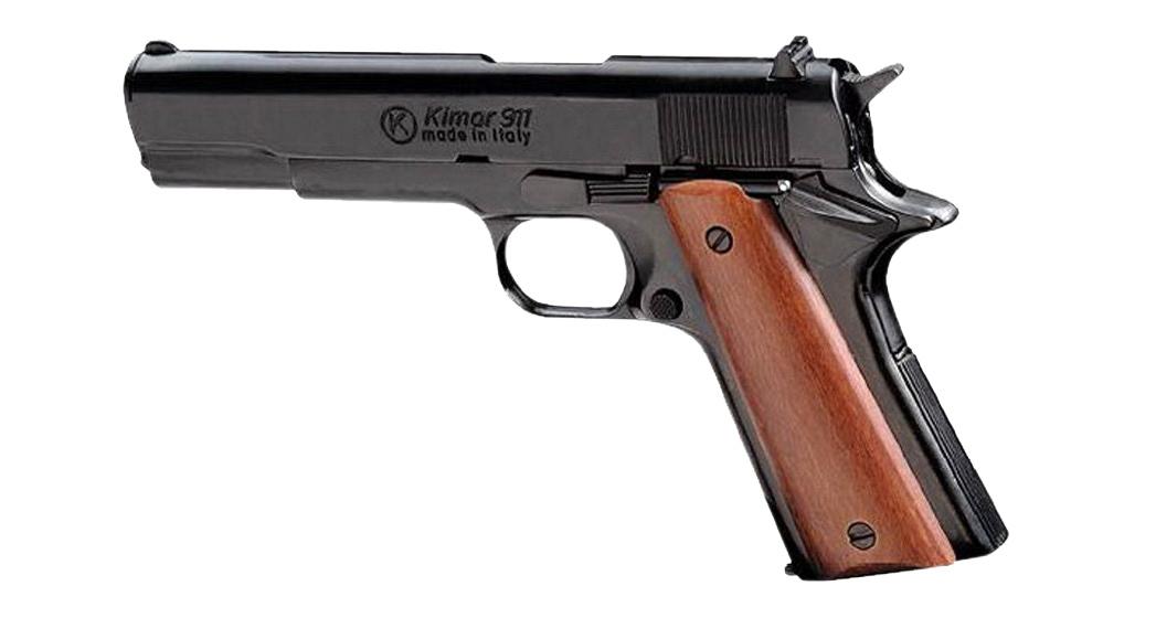 Pistolet à blanc type Colt 1911 noir calibre 9mm