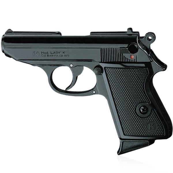Pistolet de défense discret LADY k calibre 9 mm noir