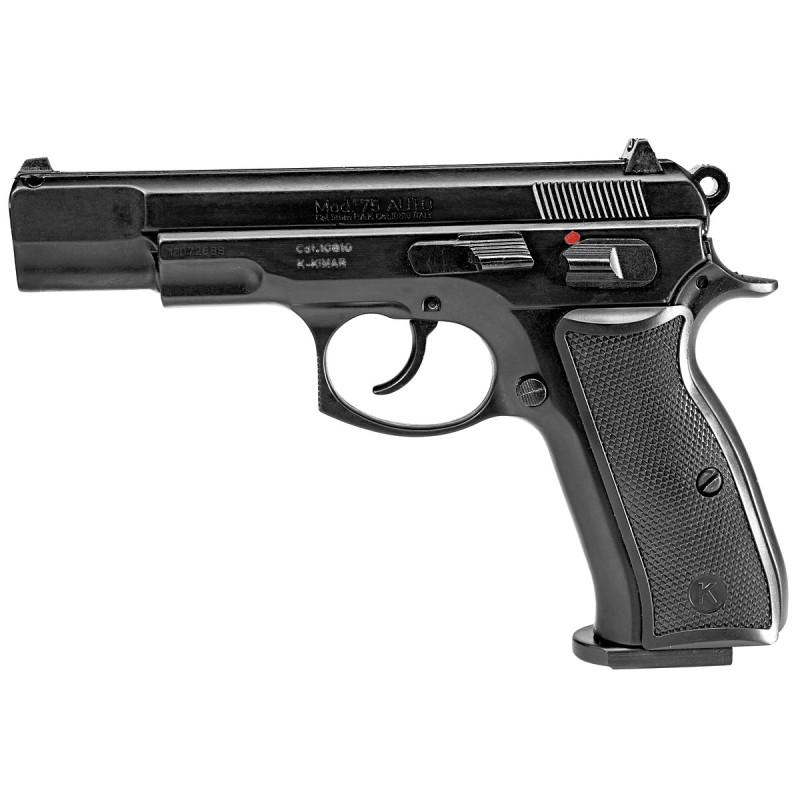 Pistolet de défense CZ 75 AUTO calibre 9mm noir