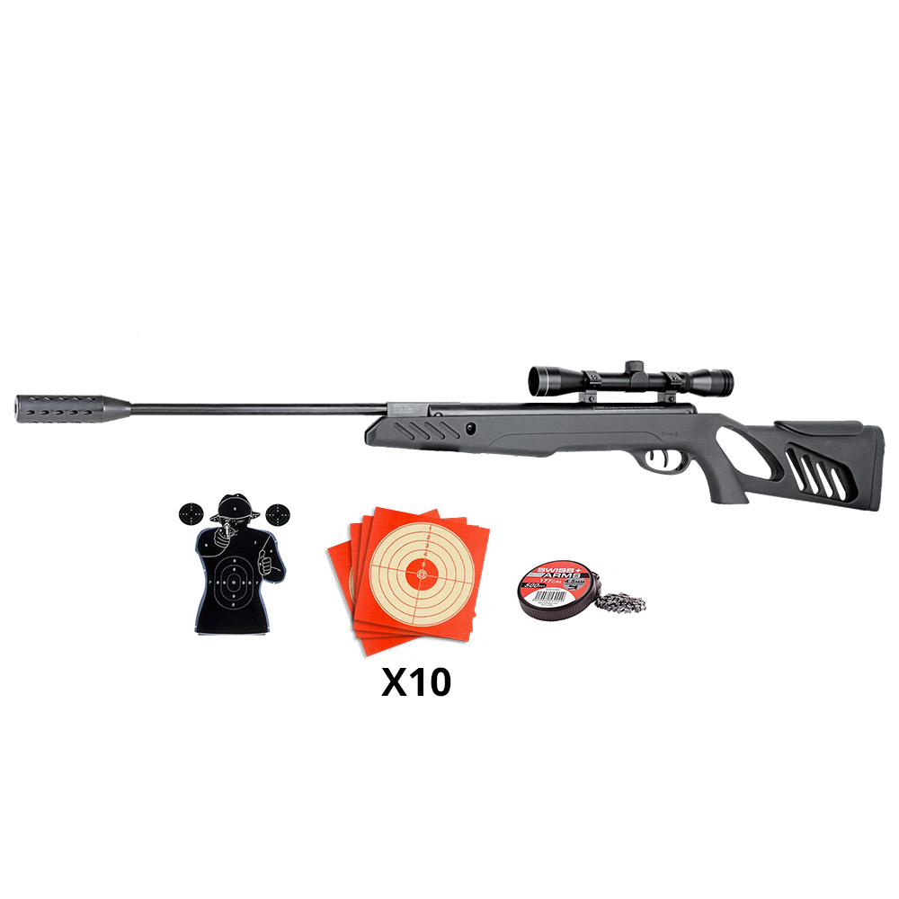 Pack carabine à plomb swissarms SA1200 4.5 mm - 19,9 joules