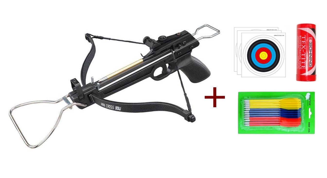 Kit pistolet arbalète Lynx A17 80 lbs