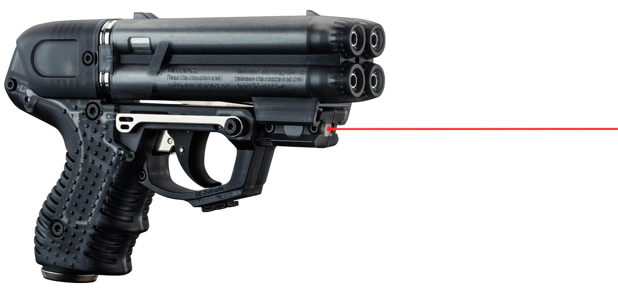 JPX6 nouvelle génération 4 coups Compact avec laser