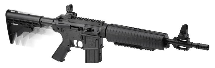 Mitraillette M4-177 Crosman air comprimé calibre 4,5 Plomb ou bille acier