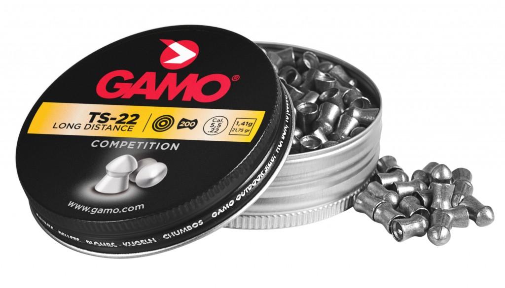 Boîte de 200 plombs Gamo TS22 calibre 4,5 mm
