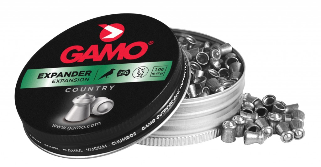 Boîte de 250 plombs Gamo Expander calibre 4,5 mm