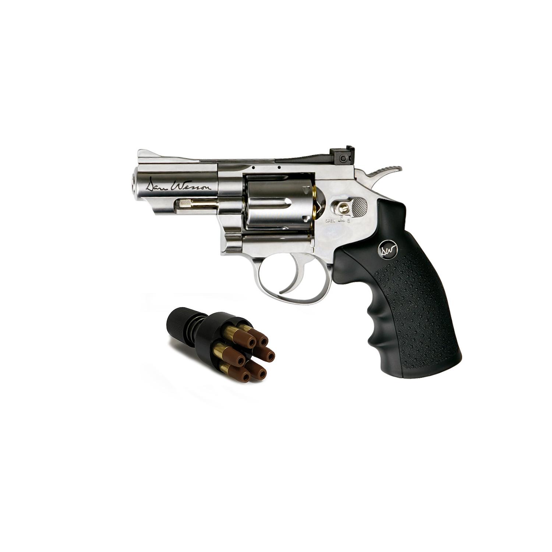 Réplique revolver Dan Wesson 2,5 calibre 4,5mm billes acier BBS