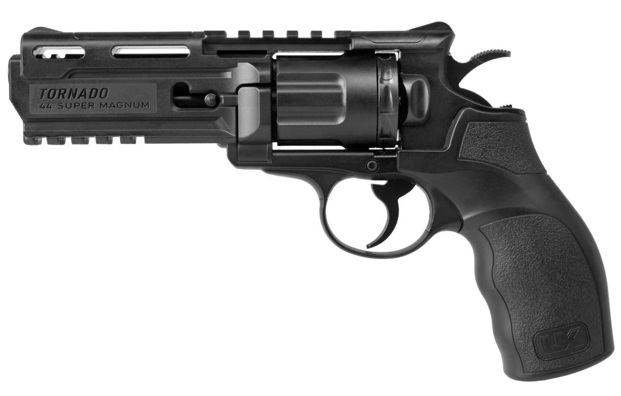 Réplique revolver UX Tornado co2 calibre 4,5 mm billes acier BBS