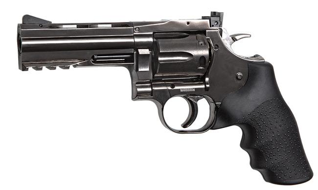 Réplique revolver Dan Wesson 715 full metal 4 calibre 4,5mm billes acier BBS