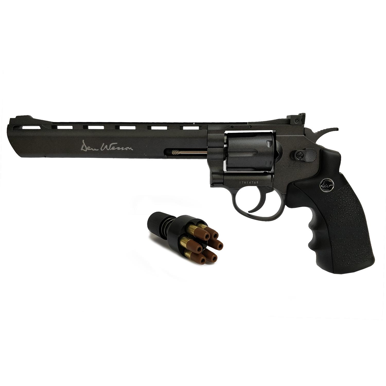 Réplique revolver Dan Wesson full metal 8 calibre 4,5mm billes acier BBS