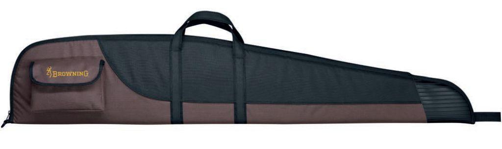 Fourreau Browning marron et noir pour carabine avec embout renforcé 123 cm
