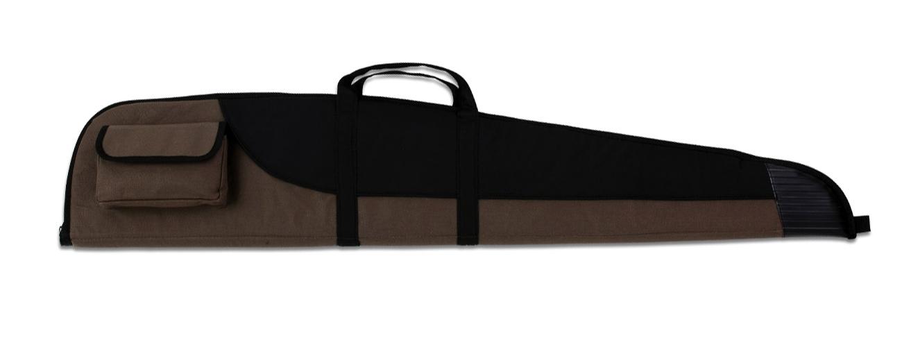 Fourreau noir et marron de transport 123 cm pour carabine