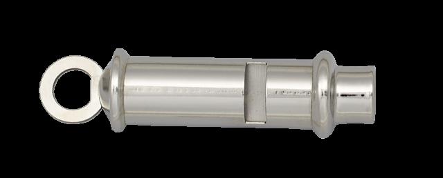 Sifflet Ferroviaire en métal chromé