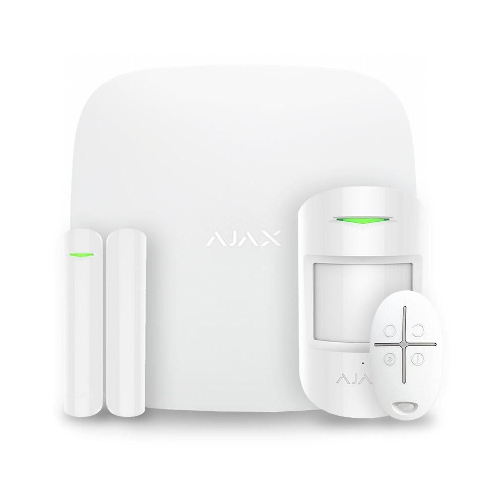 Pack complet StarterKit alarme maison Ajax Blanc