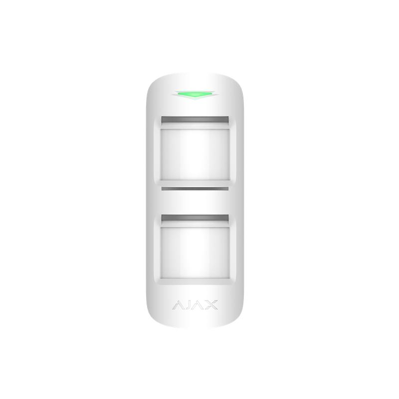 Détecteur de mouvement extérieur sans fil avec protection intelligente Ajax