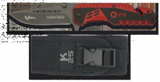 Couteau pliant K25 Attraction avec brise-vitre et coupe-ceinture
