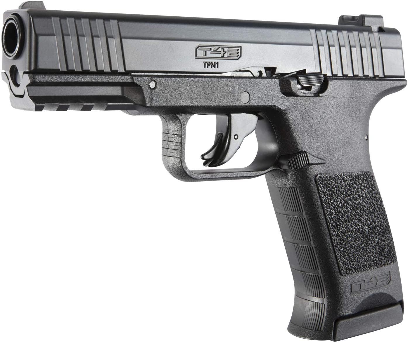 Pistolet de défense T4E TPM 1 CAL 0.43 CO2 Black - 8 coups UMAREX