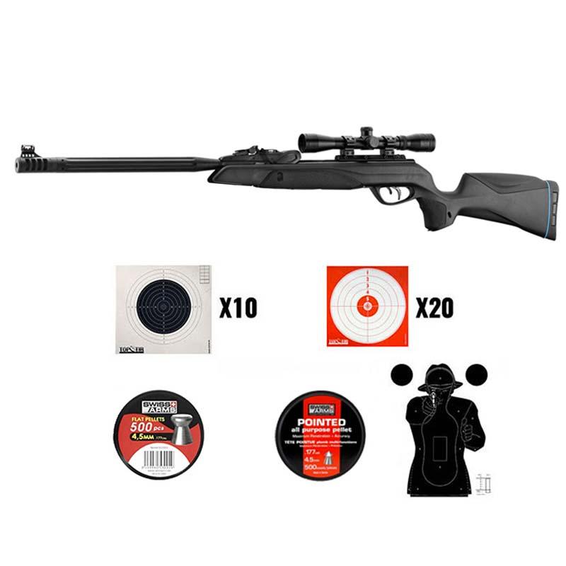 Pack Carabine Gamo SPEEDSTER 10X IGT GEN2 19.9 joules 4,5mm