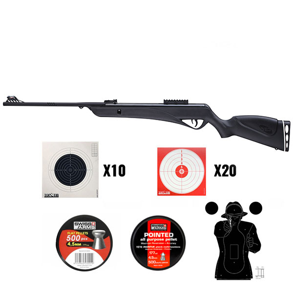 Pack Carabine MAGTECH Jade PRO 19,9 joules calivre 4,5mm