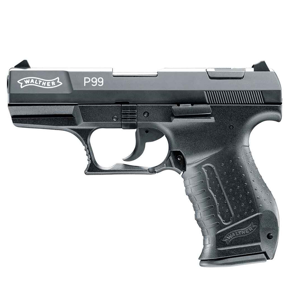 Pistolet d\'alarme P99 Walther Noir calibre 9 mm