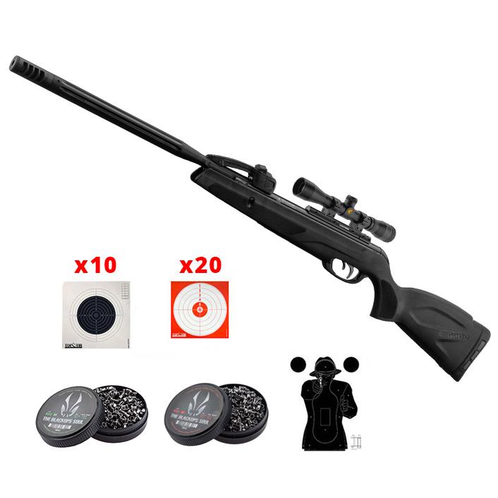 Kit Carabine à plombs Gamo Replay Maxxim 10 coups calibre 4,5 mm 19,9 joules