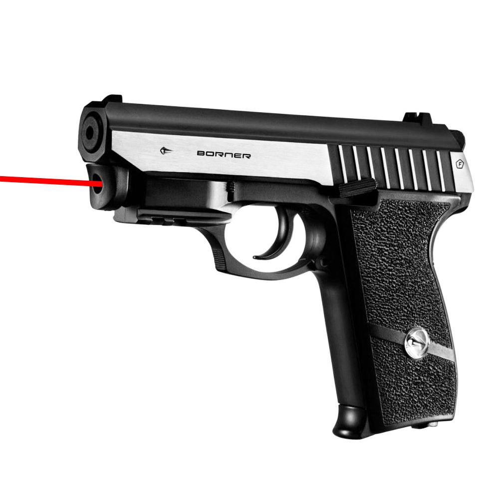 Pack Pistolet à billes Panther 801 avec Laser intégré - Borner