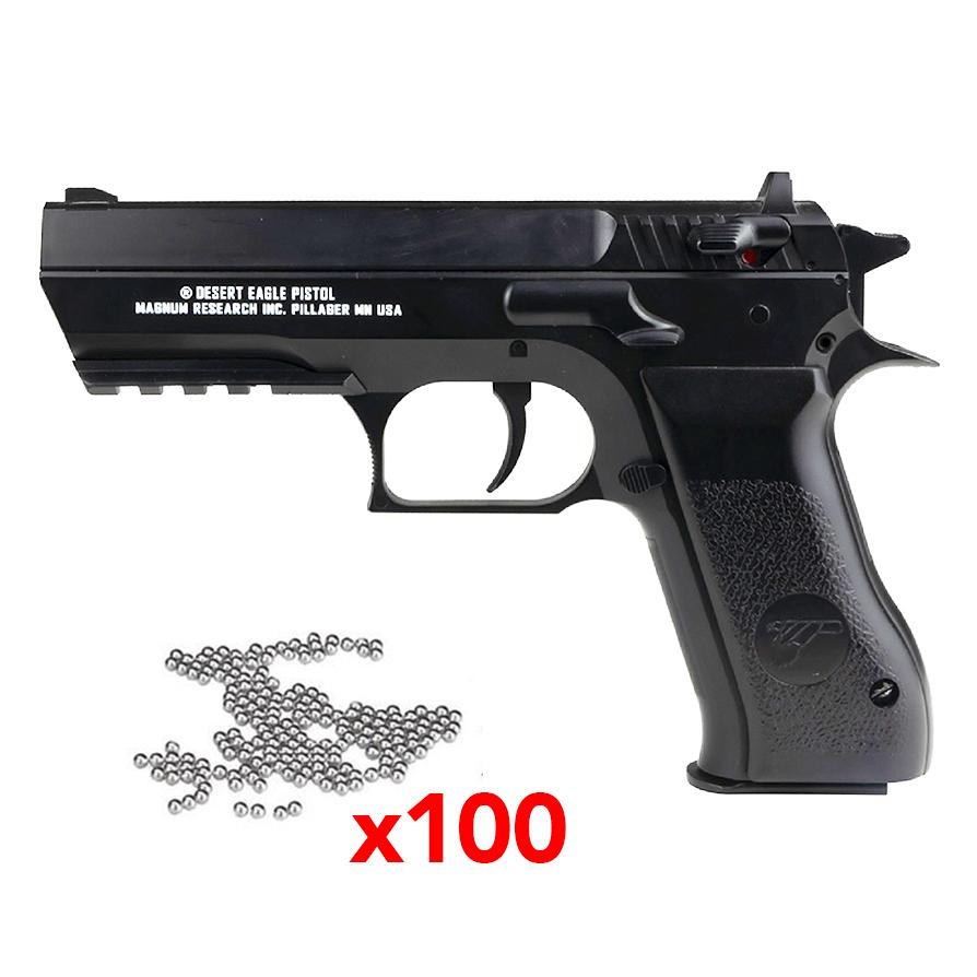 Pistolet Baby Desert Eagle BBS Magnum Research Black calibre 4.5mm 2.8j
