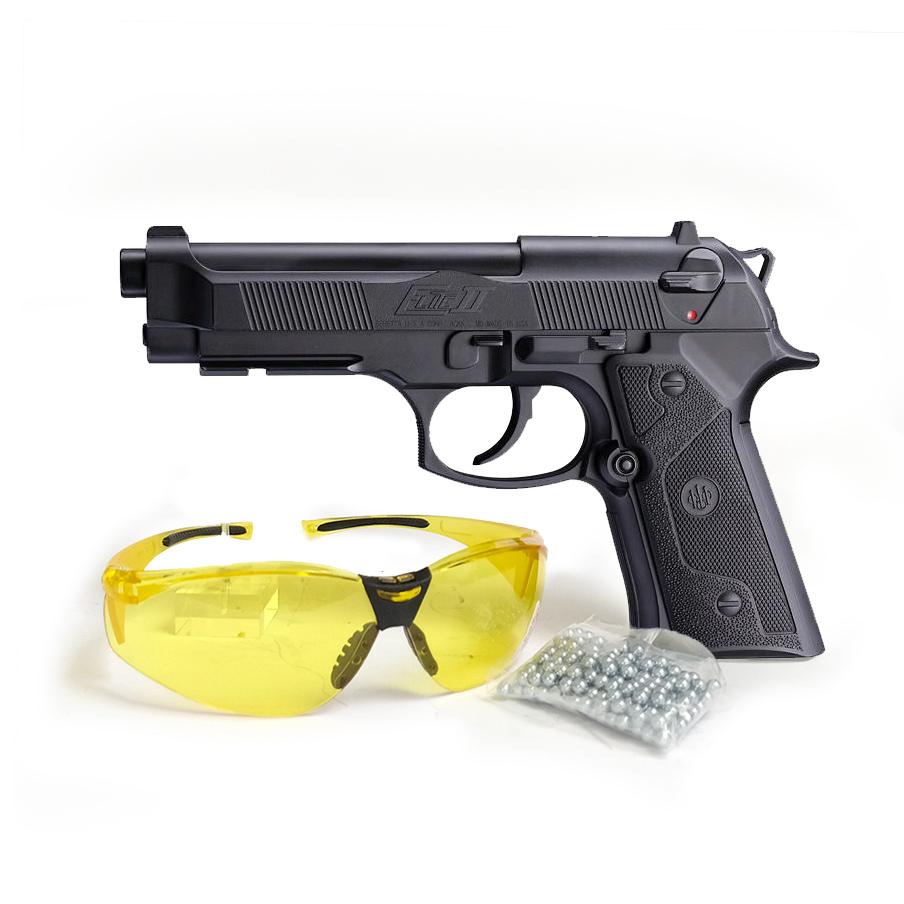 Coffret Beretta Elite II + Lunettes de protection + 250 billes BB - Umarex
