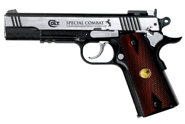 Pistolet à plomb BBS Colt Spécial Combat 4.5 mm - Umarex