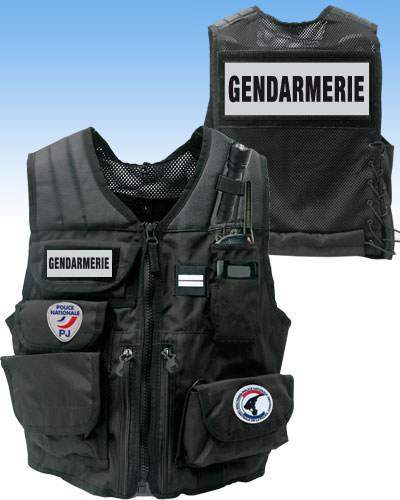 gilet identification gendarmerie gendarmerie nationale. Black Bedroom Furniture Sets. Home Design Ideas