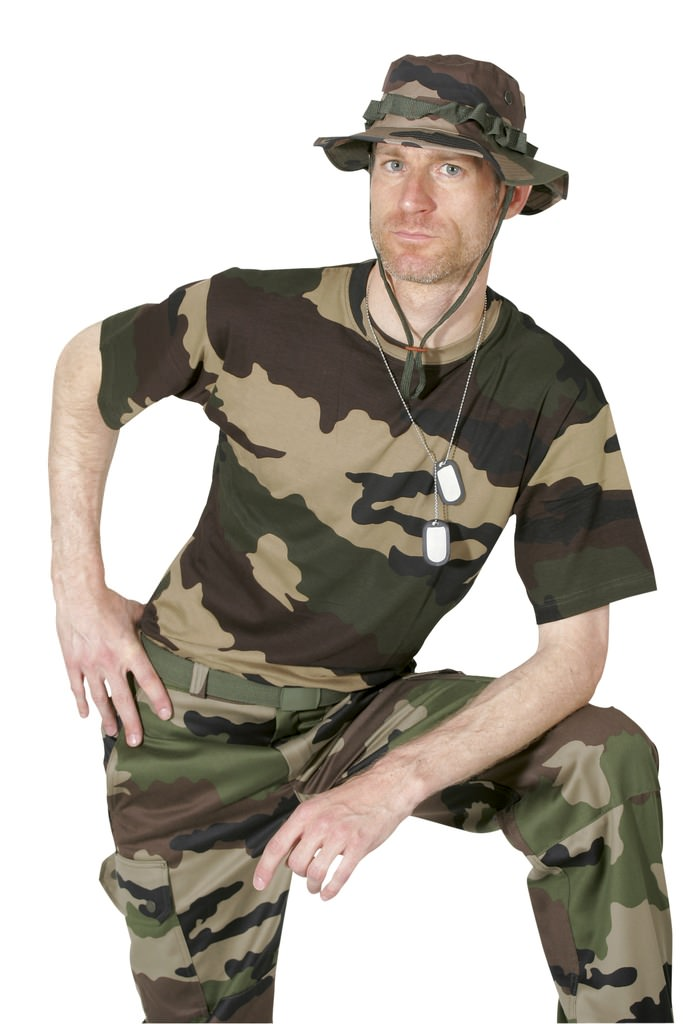 tee shirt militaire camouflage militaire tee shirt. Black Bedroom Furniture Sets. Home Design Ideas