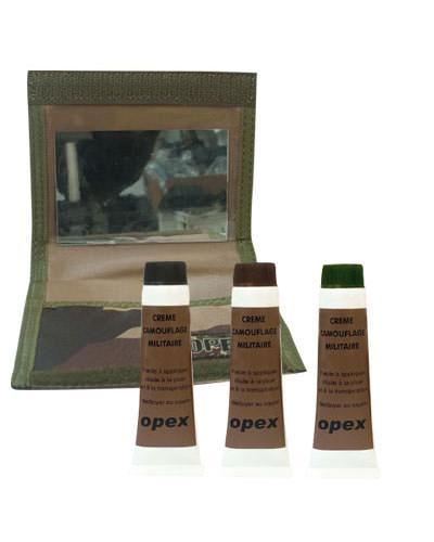 Peinture camouflage + pochette