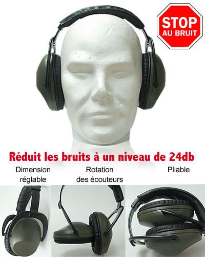 Casque pliable anti-bruit OPEX®