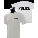 Tee-Shirt Blanc imprimé POLICE