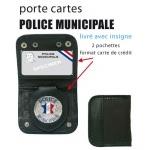 Porte carte + médaille PM