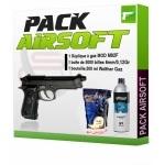 Pack AIRSOFT complet prêt à l'utilisation