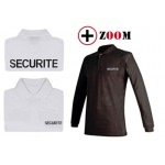 Polo brodé SECURITE manches longues