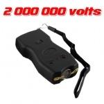 Taser shocker 2 millions Volts rechargeable + Led éblouissantes