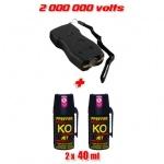 Pack de défense FULL SECURITY 2 000 000 volts
