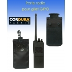 Porte radio pour gilet modulable GIPO