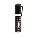Bombe lacrymogène gaz cs 25 ml